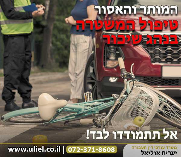 טיפול המשטרה בנהג שיכור – המותר והאסור